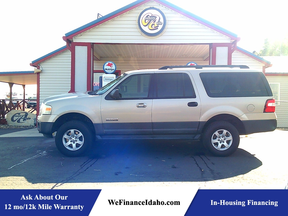 2007 Ford Expedition EL XLT 4WD  - 9130  - Country Auto