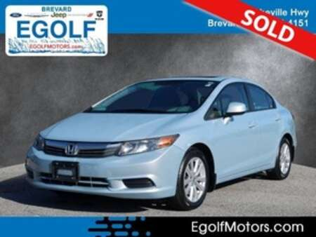 2012 Honda Civic EX-L w/Navi for Sale  - 5232D  - Egolf Motors