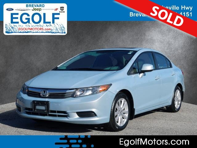 2012 Honda Civic  - Egolf Motors