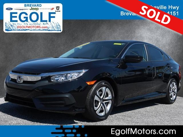 2018 Honda Civic  - Egolf Motors