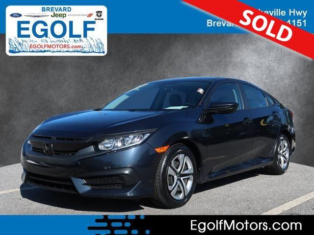 2018 Honda Civic  - Egolf Motors