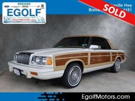 1986 Chrysler Lebaron Base for Sale  - 1986  - Egolf Motors