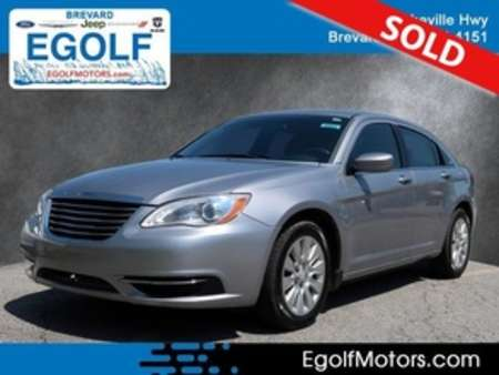 2014 Chrysler 200 LX for Sale  - 10852  - Egolf Motors