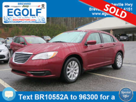 2013 Chrysler 200 Touring for Sale  - 10552A  - Egolf Motors