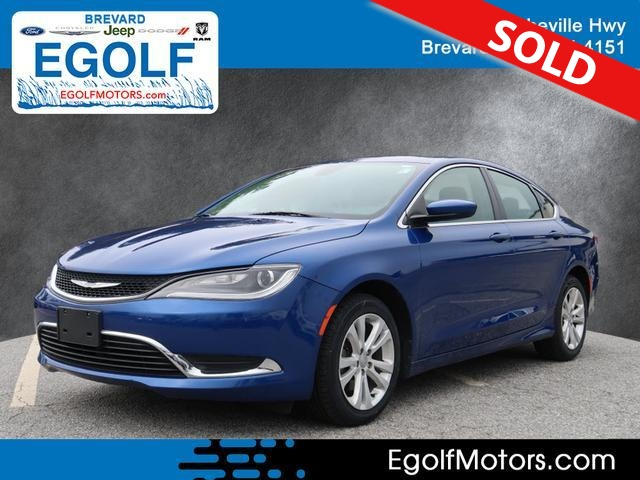 2015 Chrysler 200  - Egolf Motors
