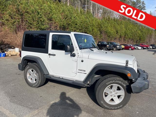 2018 Jeep Wrangler JK  - Egolf Motors