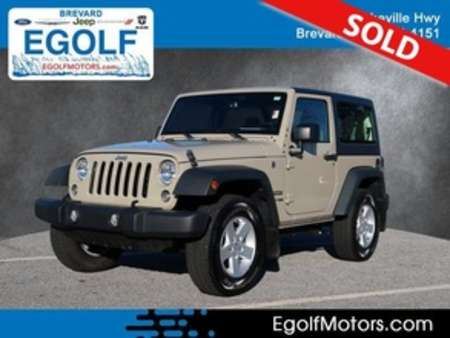 2018 Jeep Wrangler Sport for Sale  - 82357A  - Egolf Motors