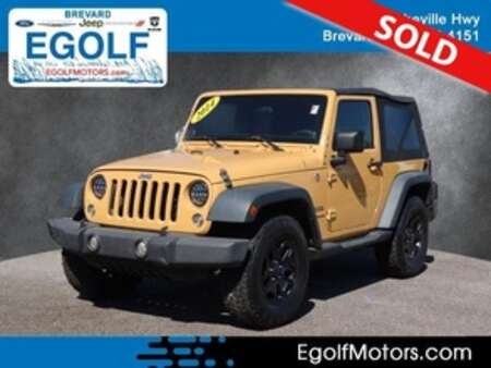 2014 Jeep Wrangler Sport 4WD for Sale  - 82439C  - Egolf Motors