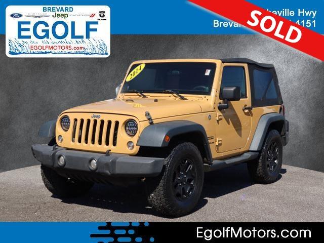 2014 Jeep Wrangler  - Egolf Motors