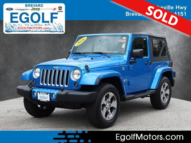 2016 Jeep Wrangler  - Egolf Motors