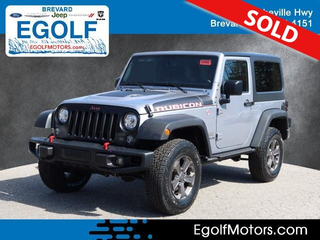 2017 Jeep Wrangler  - Egolf Motors