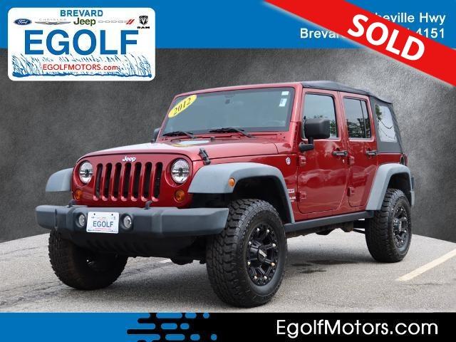 2012 Jeep Wrangler  - Egolf Motors