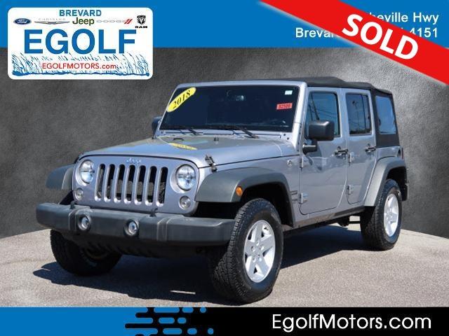 2018 Jeep Wrangler JK Unlimited  - Egolf Motors