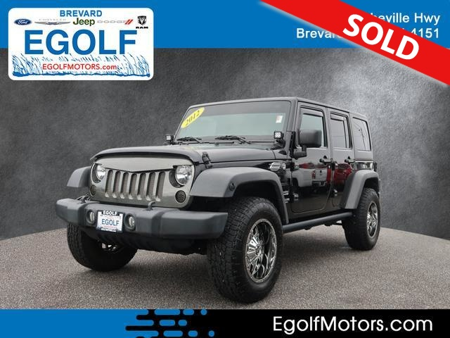 2012 Jeep Wrangler  - Egolf Motors