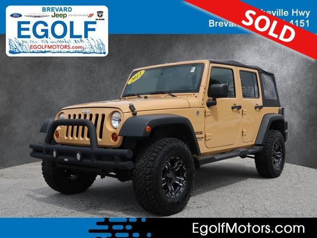 2013 Jeep Wrangler  - Egolf Motors
