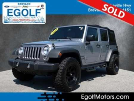2018 Jeep Wrangler JK Unlimited Sport for Sale  - 82338A  - Egolf Motors