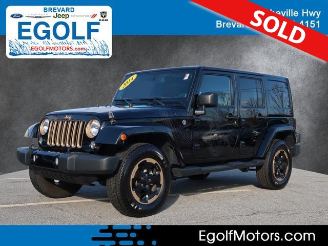 2014 Jeep Wrangler  - Egolf Motors