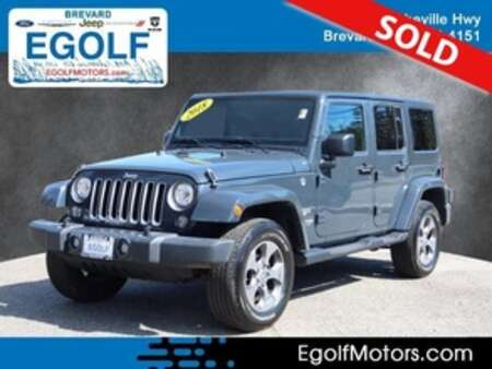 2018 Jeep Wrangler JK Unlimited Sahara for Sale  - 22060A  - Egolf Motors