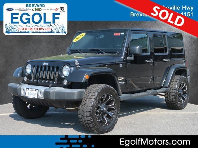 2015 Jeep Wrangler  - Egolf Motors