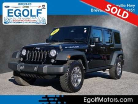 2017 Jeep Wrangler Unlimited Rubicon for Sale  - 21794A  - Egolf Motors