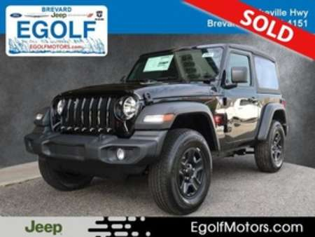 2020 Jeep Wrangler SPORT 4X4 for Sale  - 21848  - Egolf Motors