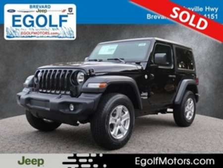 2020 Jeep Wrangler Sport for Sale  - 21868  - Egolf Motors