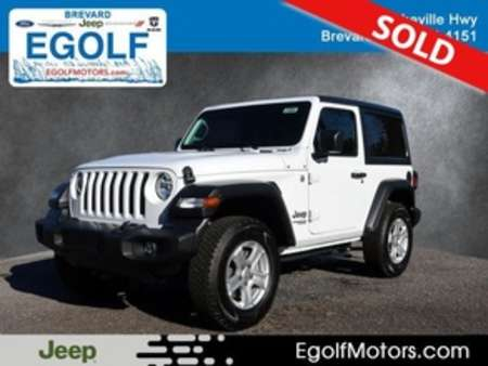 2020 Jeep Wrangler SPORT 4X4 for Sale  - 21804  - Egolf Motors