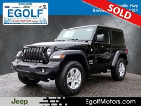2019 Jeep Wrangler Sport for Sale  - 21721  - Egolf Motors