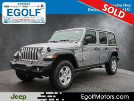 2020 Jeep Wrangler Sport for Sale  - 21898  - Egolf Motors