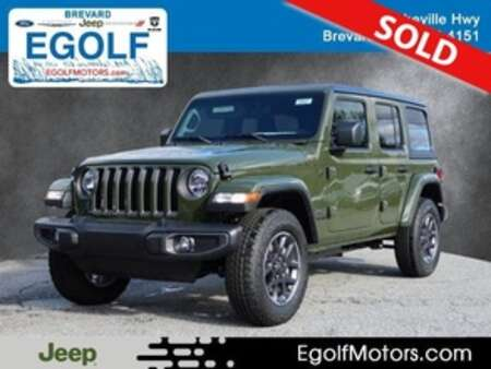 2021 Jeep Wrangler UNLIMITED SPORT 4X4 for Sale  - 22027  - Egolf Motors