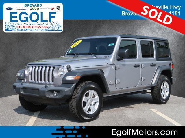 2018 Jeep Wrangler  - Egolf Motors