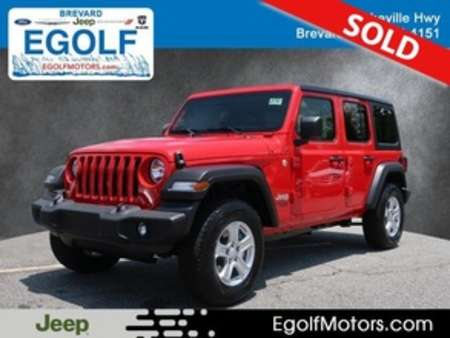 2019 Jeep Wrangler Sport for Sale  - 21783  - Egolf Motors