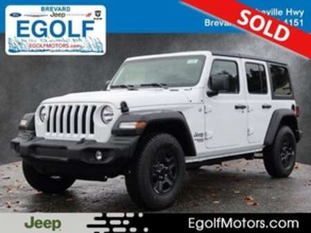 2021 Jeep Wrangler UNLIMITED SPORT 4X4 for Sale  - 22004  - Egolf Motors