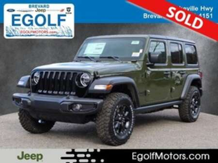 2021 Jeep Wrangler WILLYS UNLIMITED 4X4 for Sale  - 22043  - Egolf Motors