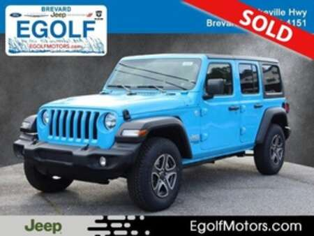 2021 Jeep Wrangler SPORT UNLIMITED 4X4 for Sale  - 22049  - Egolf Motors