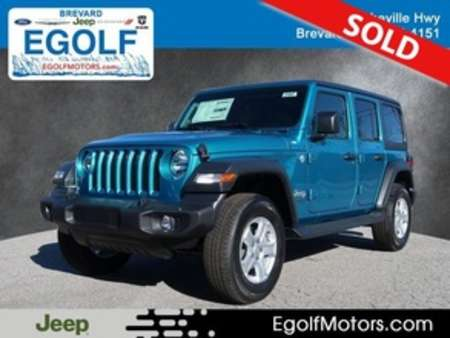 2020 Jeep Wrangler SPORT 4X4 for Sale  - 21847  - Egolf Motors