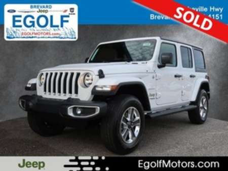 2020 Jeep Wrangler SAHARA 4X4 for Sale  - 21846  - Egolf Motors