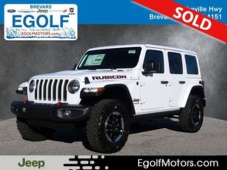 2020 Jeep Wrangler RUBICON 4X4 for Sale  - 21815  - Egolf Motors