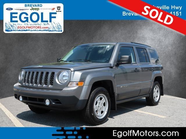 2014 Jeep Patriot  - Egolf Motors