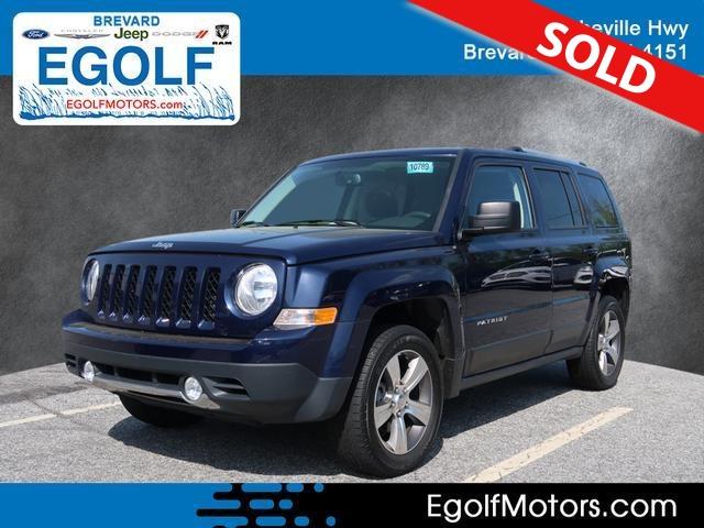 2016 Jeep Patriot  - Egolf Motors