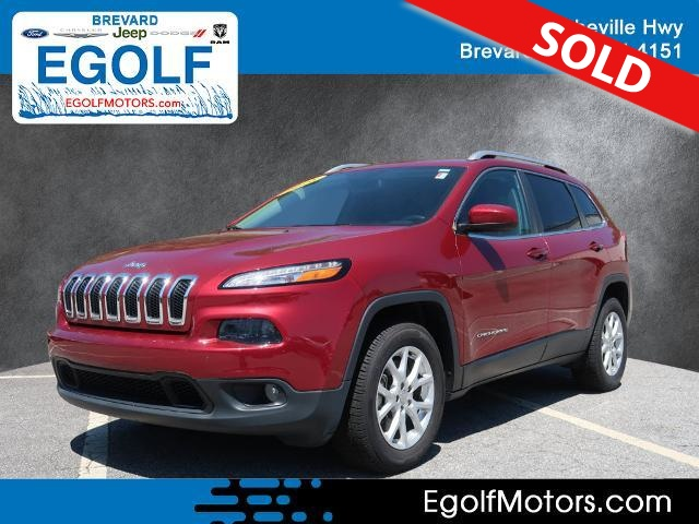 2016 Jeep Cherokee  - Egolf Motors