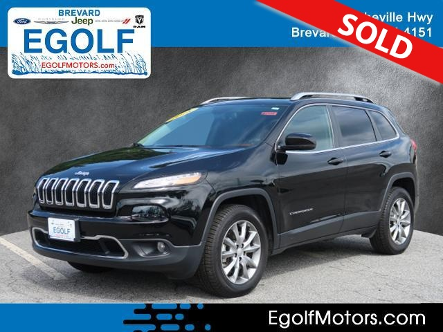 2018 Jeep Cherokee  - Egolf Motors