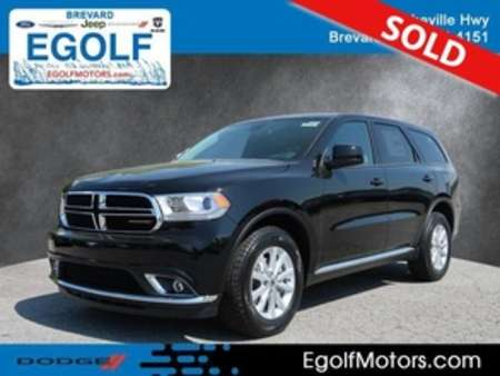 2019 Dodge Durango SXT AWD for Sale  - 21765  - Egolf Motors