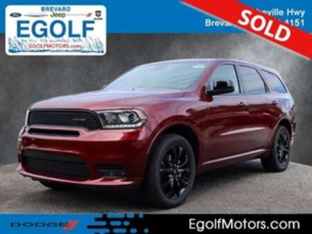 2020 Dodge Durango GT Blacktop AWD for Sale  - 21981  - Egolf Motors