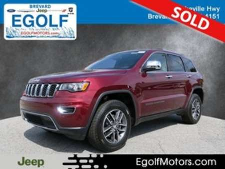 2018 Jeep Grand Cherokee Limited for Sale  - 21623  - Egolf Motors
