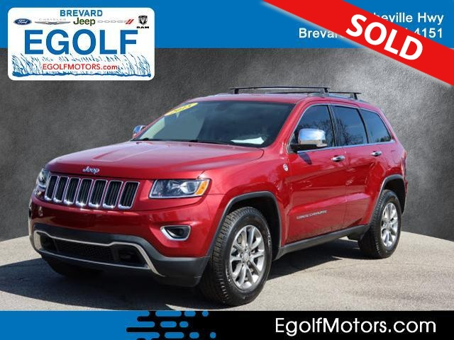 2015 Jeep Grand Cherokee  - Egolf Motors