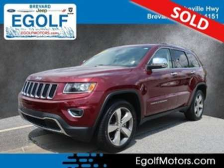 2016 Jeep Grand Cherokee Limited 4WD for Sale  - 82396A  - Egolf Motors