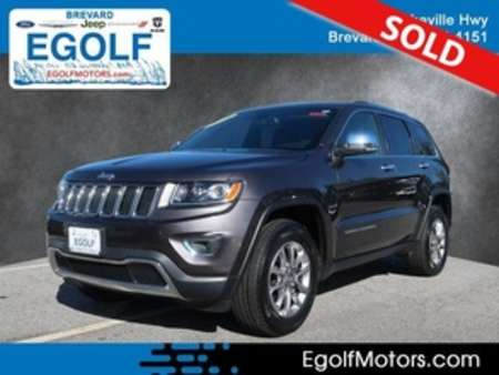 2016 Jeep Grand Cherokee Limited 4WD for Sale  - 82359  - Egolf Motors