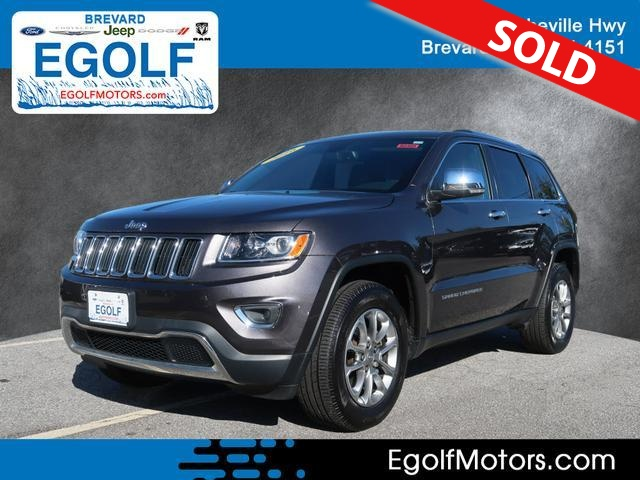 2016 Jeep Grand Cherokee  - Egolf Motors