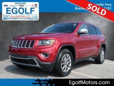 2015 Jeep Grand Cherokee Limited 4WD for Sale  - 21790A  - Egolf Motors